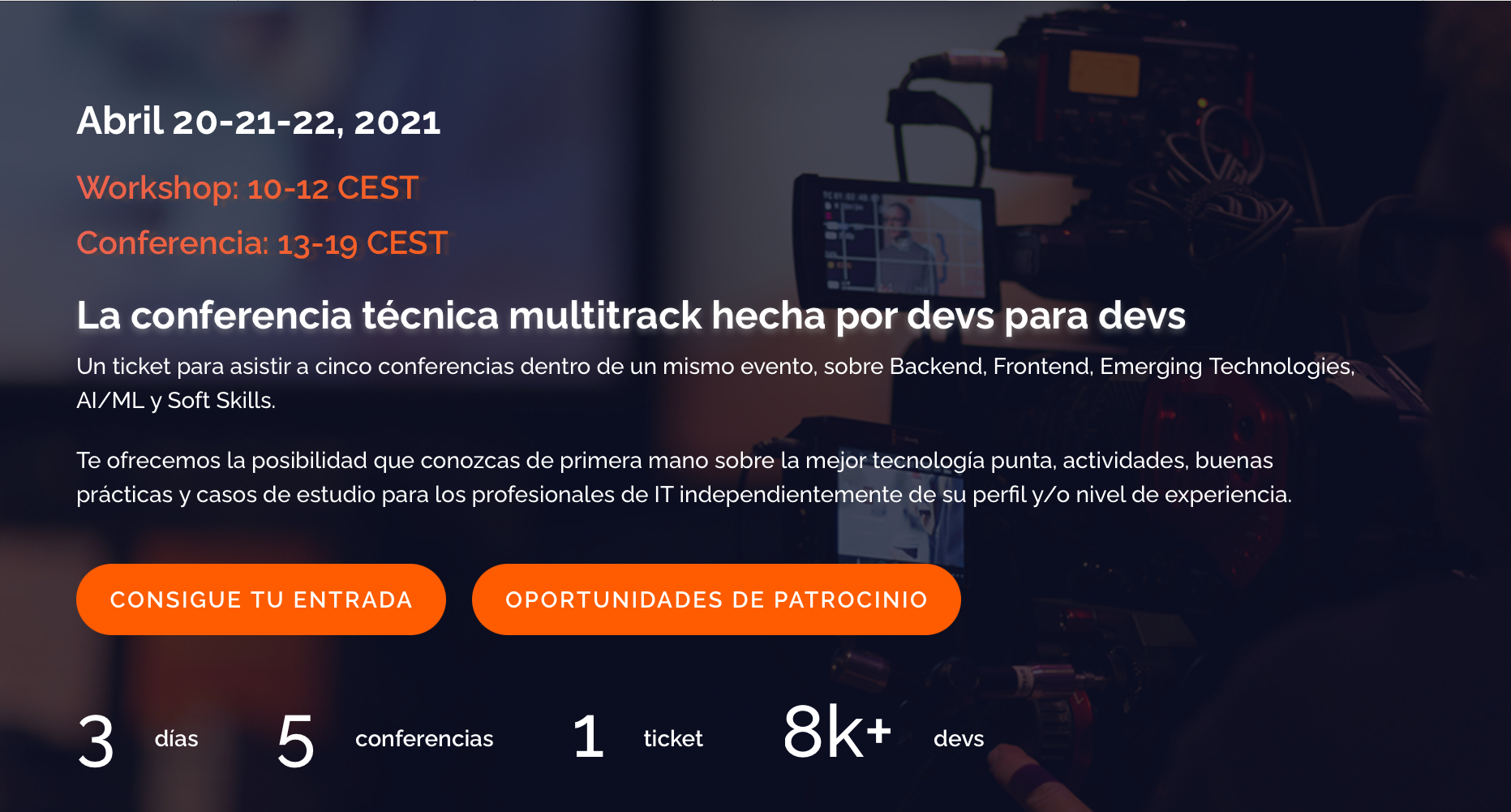 Codemotion 2021 Madrid